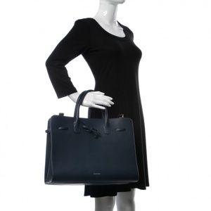 Authentic MANSUR GAVRIEL Calfskin Large Sun Bag